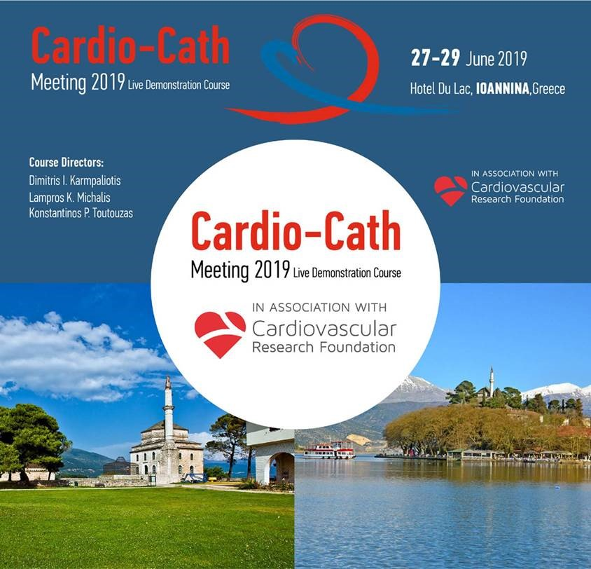 15th Annual Congress of the Hellenic College of Cardiology & Cardio Cath Meeting 2019 Live Demonstration Course