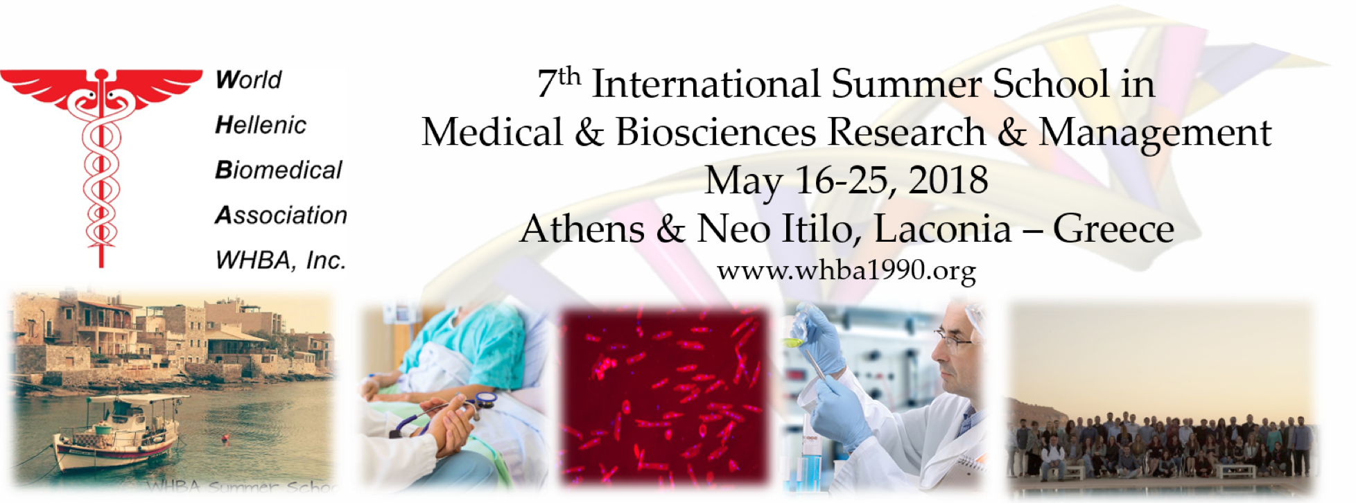 7th International Summer School in Medical & Biosciences Research & Management | WHBA